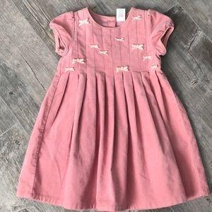 NWT Gymboree Pink Bow Dress 4